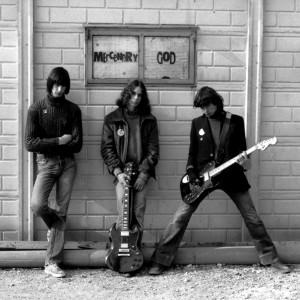 "Mercenary God (Duilio Pontelli, Louis Armato, Edi ""Kermit"" Toffoli) - Gemona del Friuli (UD) 1980 (foto Franco D'Orlando)"