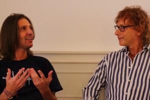 """Teo Ho e Louis Armato - foto per CD """"Collaborazione Ingiustificata"""" @ Meister Cafè - San Daniele del Friuli (UD) ) 20.08.2020 (foto Sabina Pat)"""