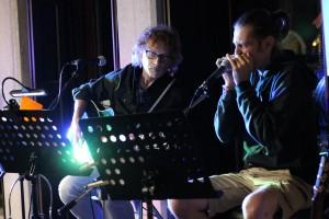 """Teo Ho e Louis Armato - presentazione CD """"Collaborazione Ingiustificata"""" @ Meister Cafè - San Daniele del Friuli (UD) ) 02.09.2021 (foto Sabina Pat)"""