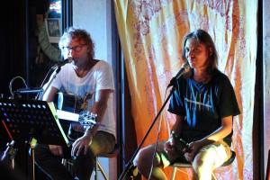 """Teo Ho e Louis Armato - anteprima CD """"Collaborazione Ingiustificata"""" @ Meister Cafè - San Daniele del Friuli (UD) ) 20.08.2020 (foto Sabina Pat)"""