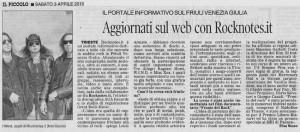 3 aprile 2010 -  IL PICCOLO - Articolo di Elisa Russo